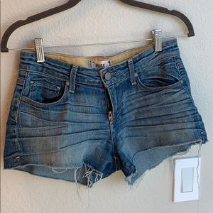 Paige cut-off denim shorts